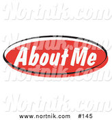 Clipart of About Me Web Button by Andy Nortnik