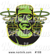 Clipart of Frankenstein by Andy Nortnik