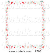 Clipart of New Years Eve Party Border by Andy Nortnik