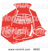 Lemonade Clipart in Retro Style by Andy Nortnik