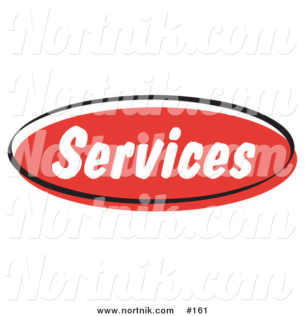 Clipart of Web Button Services