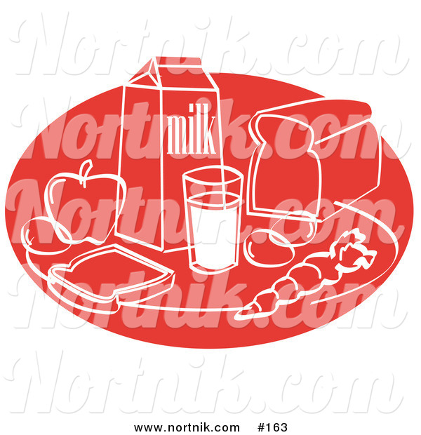 Food Groups or Food Pyramid Clipart