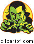 Dracula Clipart by Andy Nortnik